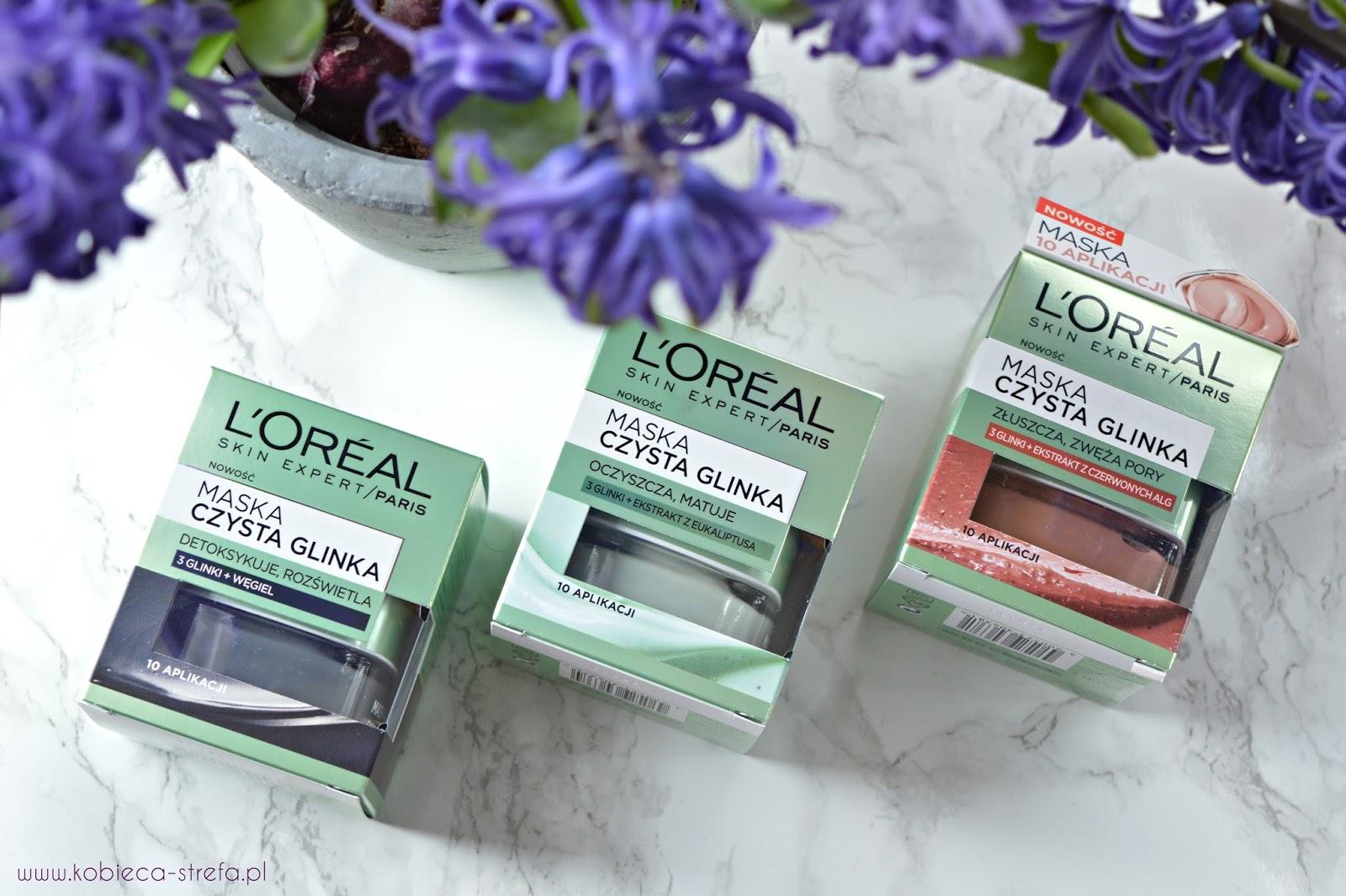 3 maski od L'Oreal Paris w walce o piękną skórę