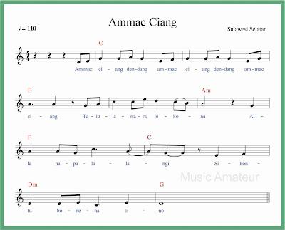 not balok lagu ammac ciang