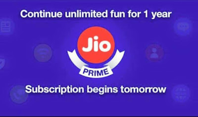 Jio Prime Subscription Extended 1 More Year
