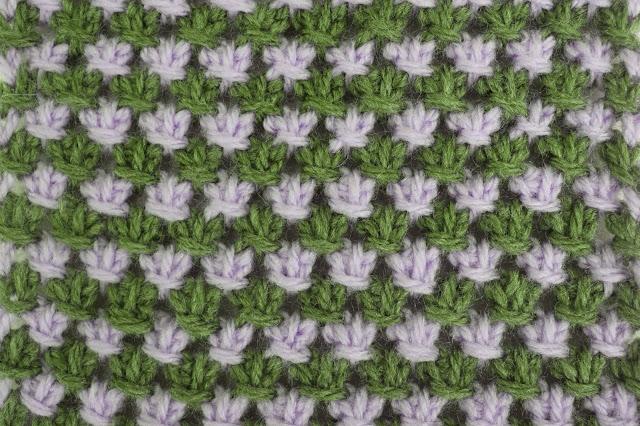 5 - Crochet Imagen Puntada tunecina a crochet y ganchillo por Majovel Crochet