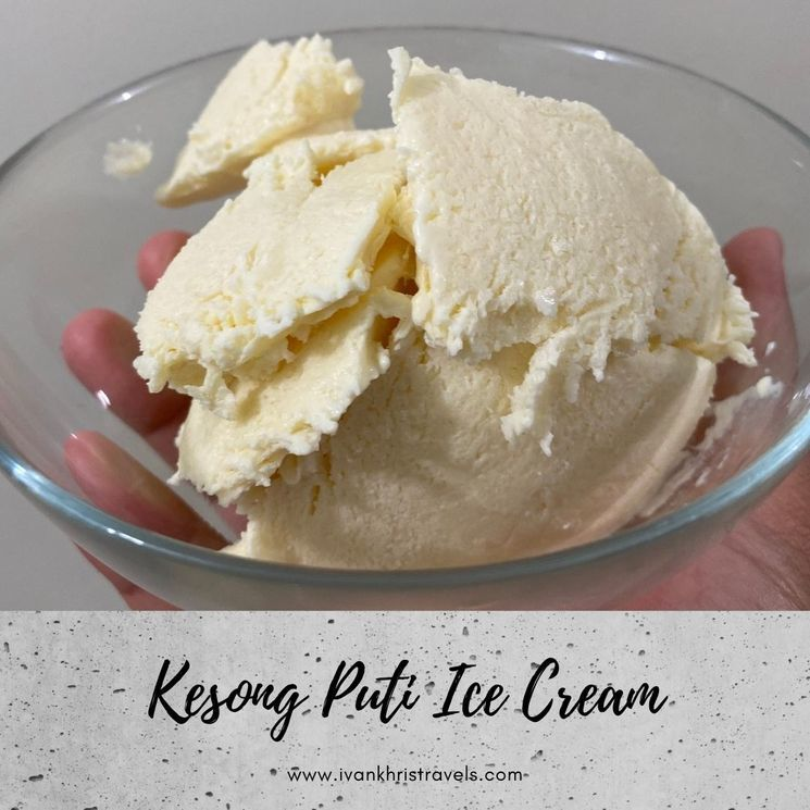 How to make Kesong Puti Ice Cream