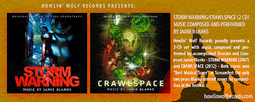 """Get the latest score from Howlin' Wolf Records """"STORM WARNING/CRAWLSPACE [2CD]"""" CLICK HERE!"""