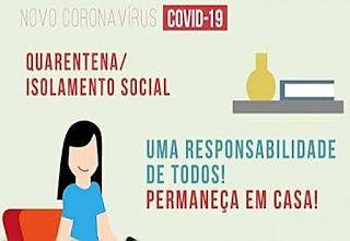 Itiruçu: Isolamento social continua, veja as retrições