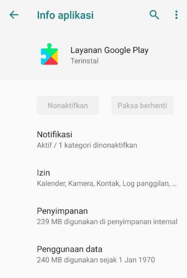 Setelan Aplikasi