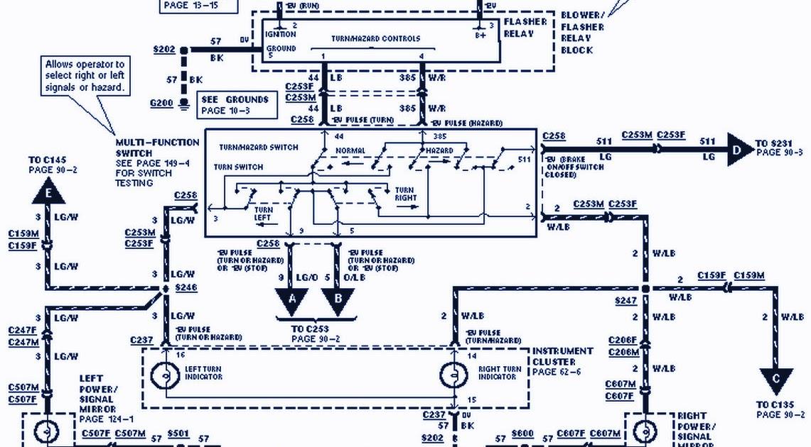 1998 Ford F 150 Wiring Diagram