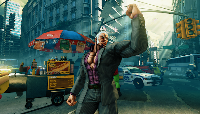 Street Fighter V Urien