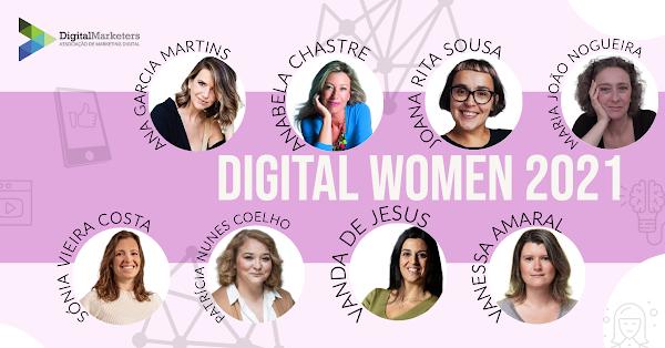 Digital Marketers celebra Dia Internacional de Mulher com Prémio Digital Women