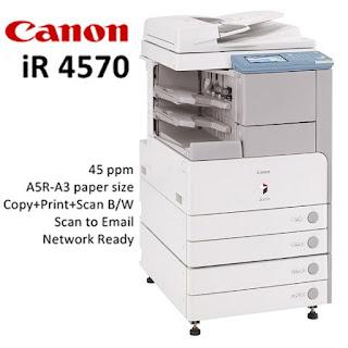 Télécharger Pilote Canon IR4570 Pour Windows et Mac