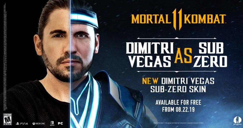 Mortal Kombat 11 Adds New Sub Zero Themed Character Skin