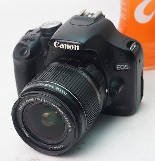 Canon EOS 500D + Kit - Jual Kamera Bekas