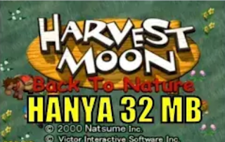 Cuma 32 MB!. Install game Harvest Moon di Android