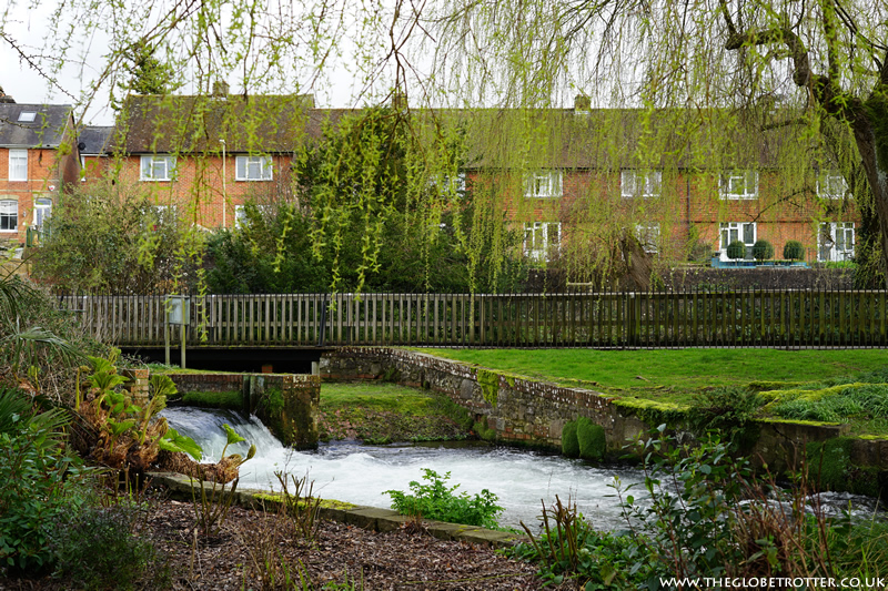 The Weirs, Riveside Walk in Winchester