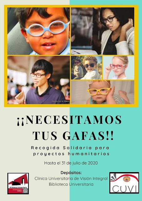 Recogida solidaria de gafas