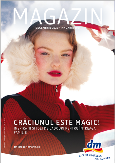 dm catalog- brosura- magazine 19.12 2020 - 05.01 2021 → CRĂCIUNUL ESTE MAGIC