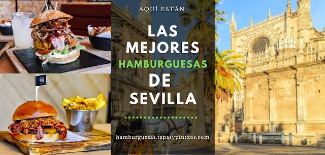 Las mejores hamburguesas de Sevilla