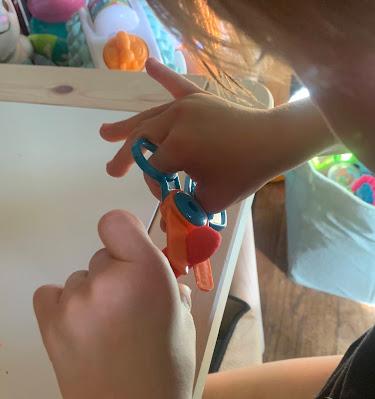Fun scissor skills activities
