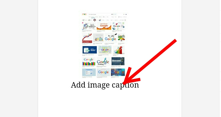 How to Optimize and rank in Google Image Search: The Image Caption