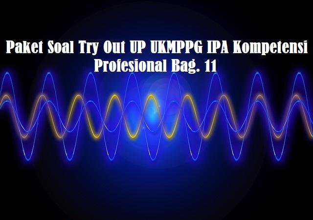 Paket Soal Try Out UP UKMPPG IPA Kompetensi Profesional Bag. 11