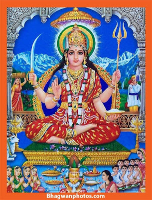 Jai Santoshi Mata Images