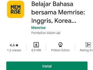 Aplikasi Android Belajar Bahasa korea terbaik Untuk Pemula
