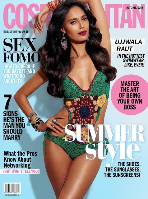 Fashion Model, @ Ujjwala Raut - Cosmopolitan India, May 2016