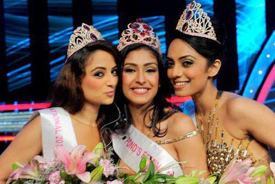 Navneet Kaur Dhillon was crowned Femina Miss India 2013