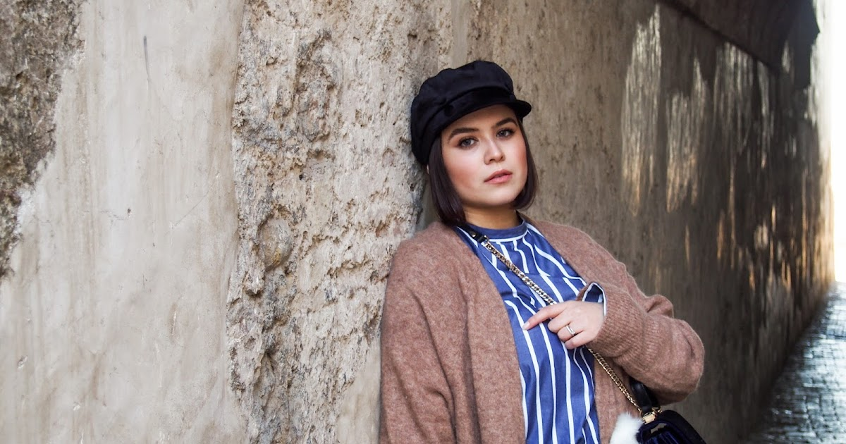 3afba17e The one with the velvet nautical cap #ootd | The Afrae way to be