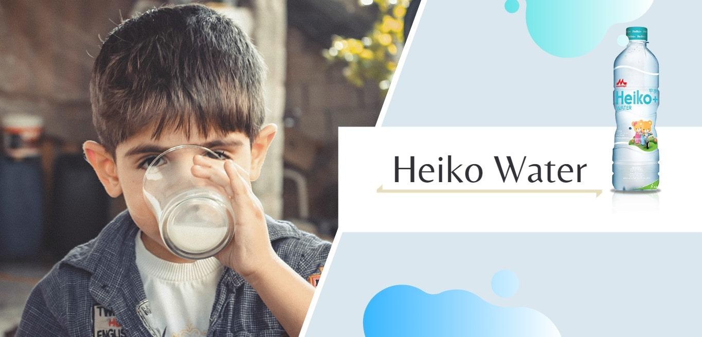 Heiko Water Terbaik untuk Buat Susu Anak