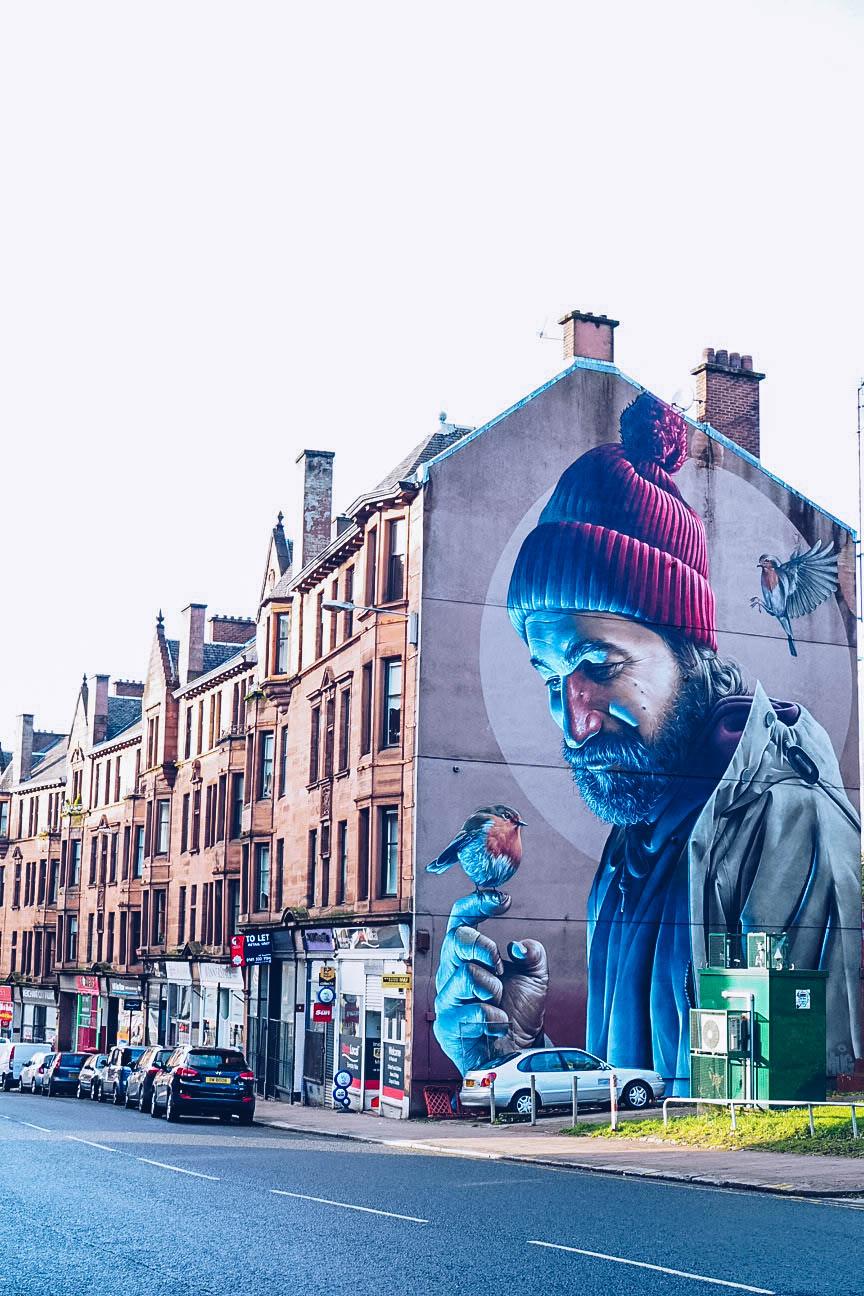 St Mungo street art