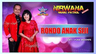 Lirik Lagu Rondo Anak Siji - Maqdalena feat. Paijo Londo