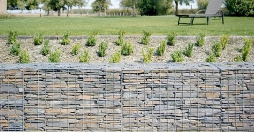Desain kerikil alam untuk dinding rumah minimalis Batu Alam untuk Dinding Rumah