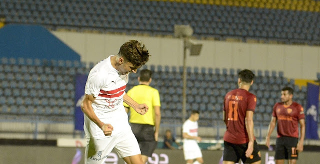 اهداف مباراة الزمالك وسيراميكا كليوباترا (2-1) الدوري المصري