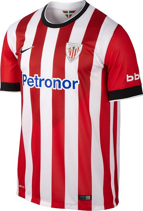 d7311fc16c Athletic Bilbao lança camisas para a temporada 2014 15