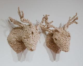 Esculturas creativas con pixeles