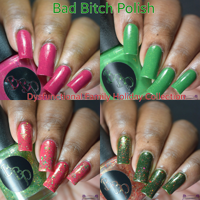 Bad Bitch Polish Dysfunctional Family Holiday Collection