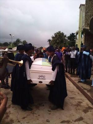 Actoe adebayo faleti burial