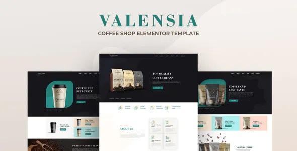 Best Coffee Shop Elementor Template Kit
