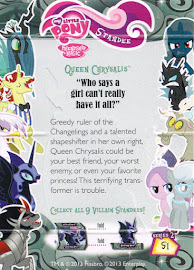 My Little Pony Queen Chrysalis Series 2 Trading Card