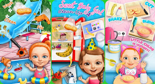 game android anak - Sweet Baby Girl Cleanup 4