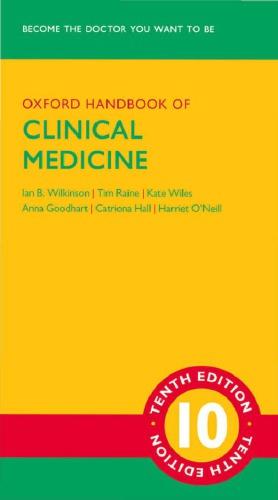 Oxford Handbook of Clinical Medicine 10th edition pdf free download