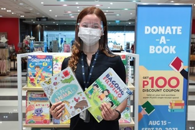 Donate a book campaign at SM Store and share the joys of learning