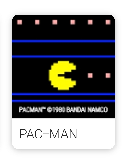 Game PAC MAN Google