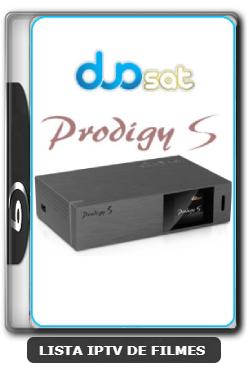 Duosat Prodigy S Nova Atualização V1.1.3 Menu camd e IKS - 10-08-2020