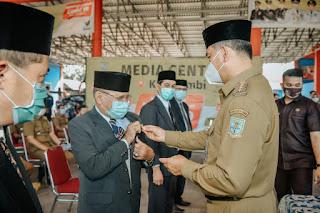 Walikota Jambi Melantik Ketua Baznas Kota Jambi Periode 2020-2025