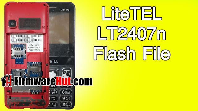 LiteTEL LT2407n Flash File MT6261 Tested (Stock Official Rom)