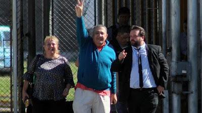 Liberaron a Luis Délía, quien estaba detenido por fuera de toda legalidad: