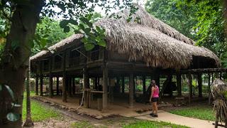 Cabañas Museo etnográfico Vietnam