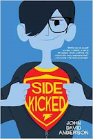 "The Avengers meets Louis Sachar in this hilarious and action-packed tween novel by John David Anderson, which Publishers Weekly called a ""superhero story that any comics fan will enjoy"" in a starred review. Andrew Bean might be a part of H.E.R.O., a secret organization for the training of superhero sidekicks, but that doesn't mean that life is all leaping tall buildings in single bounds. First, there's Drew's power: Possessed of super senses—his hearing, sight, taste, touch, and smell are the most powerful on the planet—he's literally the most sensitive kid in school. Then there's his superhero mentor, a former legend who now spends more time straddling barstools than fighting crime. Add in trying to keep his sidekick life a secret from everyone, including his parents, and the truth is clear: Middle school is a drag even with superpowers. But this is all before a supervillain long thought dead returns to the city of Justicia, superheroes begin disappearing at an alarming rate, and Drew's two identities threaten to crash head-on into each other. Drew has always found it pretty easy to separate right from wrong, good from evil. It's what a superhero does. But what happens when that line starts to disappear?"