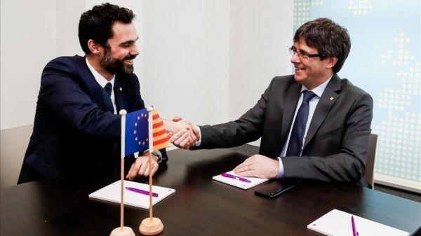 Defienden derecho de Puigdemont a ser investido presidente