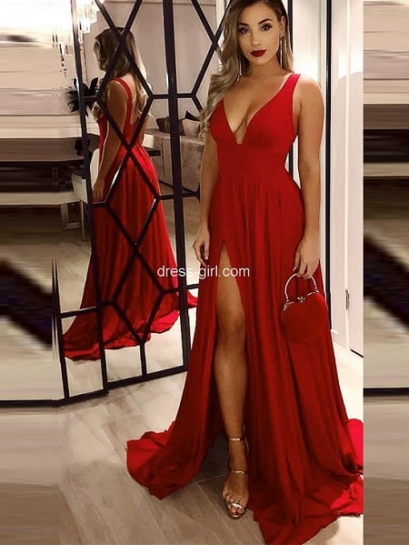فستان سواريه وسهرة موديل 2020 طويل-min